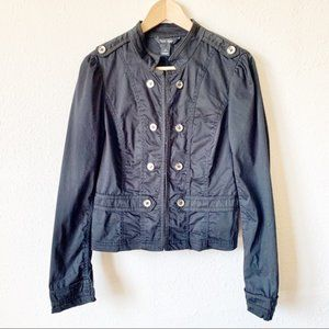 WHX Black Fitted Jacket